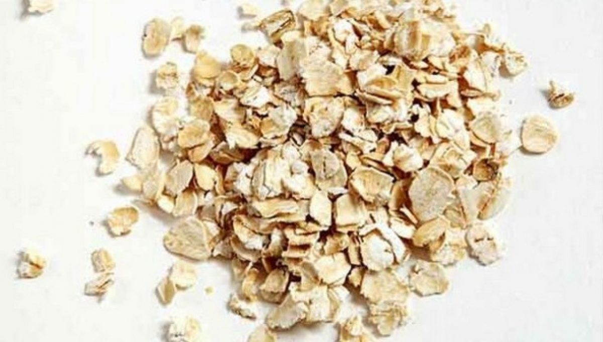 Organic Whole Rolled Oat 8 oz