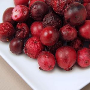 Organic Cranberries 8 oz