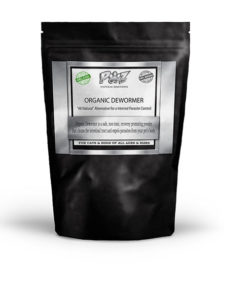 Dewormers for Dogs | Organic K9, 1 lb (16 oz) | NATURAL DEWORMER FOR DOGS AND CATS