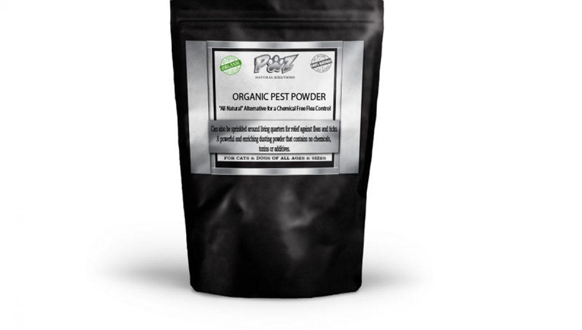 Natural Flea Killer | K9 Pest Powder for Canines, 1 lb (16 oz)